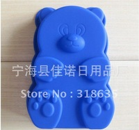 DIY Free Shipping  24pcs/lot bear designWholesale Silicone Cake Mold/Cupcake Mold /handmade soap mold /baking mould bakeware