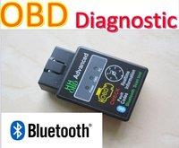 Free Shipping NEW HH OBD MINI Version Scan Bluetooth Advanced OBD Scan Tool Wireless Diagnostic Tool QQTQP0373