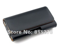 For iPhone 5 Belt Clip,Holster Holder Leather Case for iPhone5 5G,Free Shipping 5pcs/lot