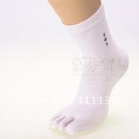 multifuns Wholesale 6Pairs/lot STAR Men's Cotton Five Fingers Toe Socks 5 fingers socks Stockings Free Shipping