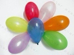 Free shipping 3 small balloons / target ball / water inflatable / Apple ball / toy balloons / 500pcs(China (Mainland))
