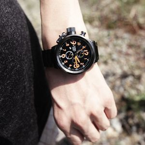 Trend unique super cool design type pointer men's casual watches for Metrosexual man watch