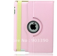 Hot selling gifts!  Multicolor For ipad mini +PU 360 Rotating Leather Case Smart Cover Stand 20pcs/lot free Shipping by DHL