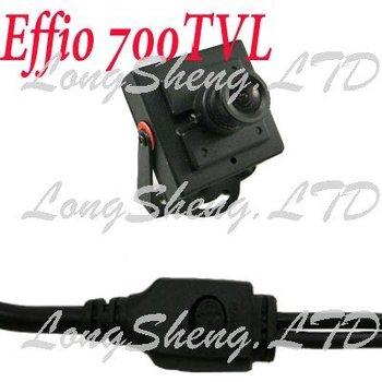 Mini Sony Effio 700TVL Surveillance OSD Menu CCTV camera 3.6mm