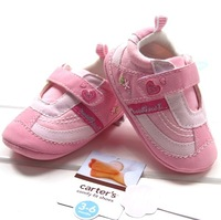 New fashion baby girls pink princess toddler antiskid shoes comfortable infant shoes high quality 3pairs/lot Q147