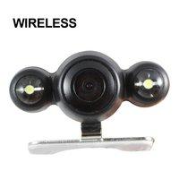 New 2.4G Wireless Car Rear View Backup Reversing Color Camera Kit Night Vision  FREE SHIPPING