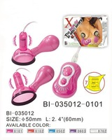 sex toy,Chest Pump, 7-speed vibe, ABS with PU coat  Available colors: Pink and Purple Battery: 3AAA