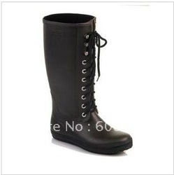 Fashion shoes frenum fleece-lined rain boots/rain/water shoes/overshoes(China (Mainland))