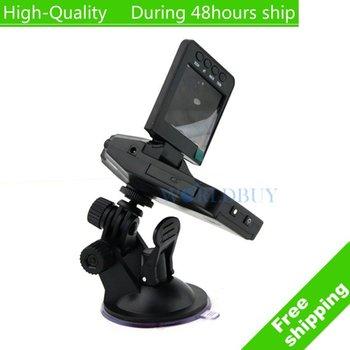 "High Quality 2.5 "" LCD TFT LCD Vehicle Car Camera HD DVR Dashboard Recorder Car Black Box Free Shipping UPS DHL EMS HKPAM"