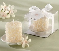 Candlelight dinner Gardenia fragrance candles /Carved scented candles /Wedding Valentine's Day Gift /Creative Home