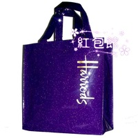 Free Shipping  Small Size Eco-friendly Vinyl Waterproof Shopping Bag