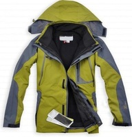 free shipping Jackets men triple outdoor breathable rain warm ski mountaineering wholesale price
