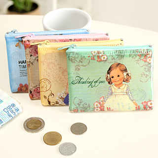 Big discount Little girl transparent grid small coin purse key wallet 13128 gaga sales christmas sales(China (Mainland))