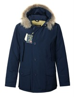Mens Woolrich Arctic Parka Waterproof Jacket Winter Warm Long Down Overcoat Free Shipping