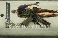 Cute Desert Eagle Pistol KeyChain BEST Hand Gun Keys Ringin Cross Fire Coolest Collecting Christmas Gift For Gun Fans
