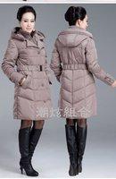 2014 Winter  Coat Women Plus Size Thickening Long White Duck Down Coat Women Down Jackets Women Branded Down & Parkas Womens 125