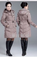 2013 Winter Women's Plus Size Thickening Down Coat Women Down Jacket Middle-age Women Winter Fashion Outerwear Brand coat  WP004