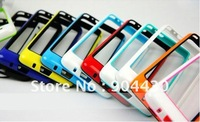 Special Offer! 1pc For Samsung i9100 Galaxy S2 S II TPU Hybrid case bumper + 6pcs screen protectors (FREE ship)