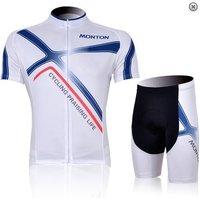 Free shipping 2012 MONTON X Infinite White Of Short Sport Cycling Jersey/Cycling Clothing/Cycling Gear