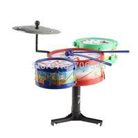 Hot sales Children Musical Instruments Toy Kids Drum Kit Set Colorful Plastic Drum