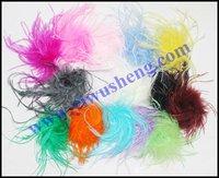 Straight ostrich puff,ostrich feather(100pcs/lot)