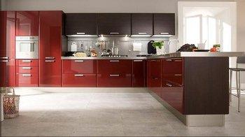 customized solid wood kitchen cabinet /kitchen furniture/kitchen cupboard/blum drawer