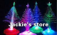 Hot sale The Christmas tree wholesale Christmas gift fiber optic light Christmas hat activity supplies Free shipping