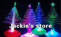 Hot sale The Christmas tree wholesale Christmas gift fiber optic light Christmas hat activity supplies Free shipping
