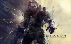 03 Halo 4 - Hot Game Art Print Wall Sticker 38&quot;x24&quot;Inch Wall Poster(China (Mainland))