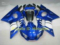 blue white fairing kit FOR  YZF R6 1998 1999 2001 2002 YZF-R6 YZFR6 600 98 99 00 01 02 YZF600