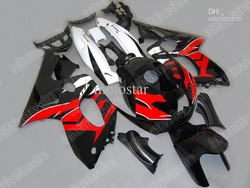 Black red ABS fairing for 1997 - 2007 YZF600R Thundercat YZF 600R YZF-600R 97 - 07 Full kit +Gift(China (Mainland))