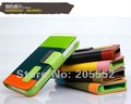 HK freeshipping MOQ 1PC New KALAIDENG Painting Series PU Leather Wallet Case For iphone 4 4S  with retail box