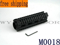 Free shipping 5PCS Tactical Handguard Picatinny Extend Quad Rail Weaver M0018(China (Mainland))