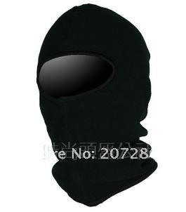Free shipping 5pcs/lot under helmet Motorcycle Warm Ski Hood FACE BLACK FULL CS caps TCM MASK by WINDMASK 121029