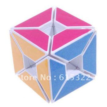 Free shipping  LL Corner Angle Hollow Magic IQ Test Cube