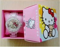 20pcs/Lot Free Shipping Hello Kitty Gift boxes Watch/Jewllery Display/Packing Box