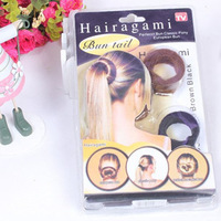 Аксессуары для придания объема и начеса волосам Retail& fashion princess hair styling tools Plastic BOBO hair maker stubbiness Big size High quality >$15