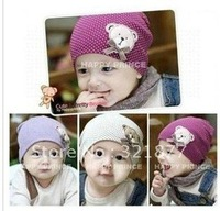 Free shipping Winnie the little baby bow hedging hat