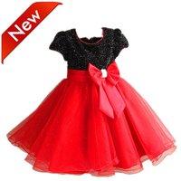 2013 brand spring summer dresses baby girl tutu dress kids paty dress children's clothing for Chirstmas ,Infant Garment 6pcs/lot