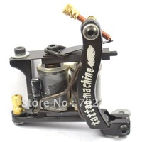Free shipping Promotional Dragon New Arrival Casting Tattoo Machines 10 Wrap Coils Gun supply For Shader free shipping