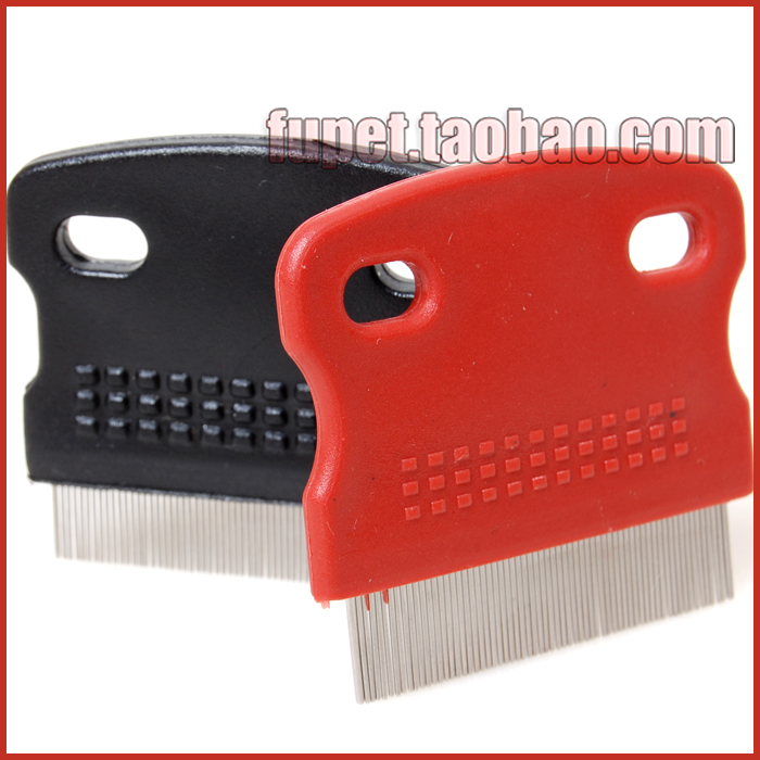 free shipping Dog comb cat grating pet brush dog frame single face comb lice flea(China (Mainland))