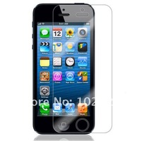 Clear LCD Screen Protector Film for Apple iPhone 5 5G without retail package, 1000pcs/lot, free shipping