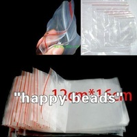 Free Shipping 100Pcs Self Sealing Zip Lock Plastic Bags 12x17cm/packaging bags(w00877)