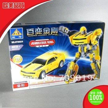 holiday sale Christmas gift Enlighten Child 8024 Educational Deformation Robot KAZI building block sets,diy toy free Shipping