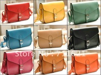 Wholesale or Retail Free shipping ! brand new Ladies&#39; leather shoulder bag / women&#39;s postman deisgn handbag vintage style #9.9