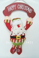 Hanging Santa Christmas Door Decoration Merry Happy Christmas