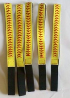 DHL Free shipping Genuine leather fastpitch softball seam headbands 200 pieces/lot