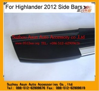 Side Bars for 2012 Toyota Highlander 4wd accessories Auto spare parts