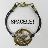 Free Shipping 600PCS/lot 2012 The Hunger Game bracelet