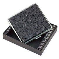 New Design creative 20 filter Cigarette Box metal cigarette case, free shipping